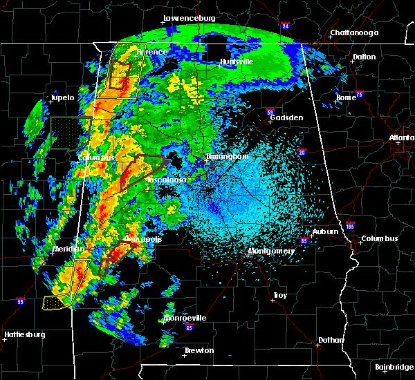 Radar Image for Severe Thunderstorms near Demopolis, AL at 4/14/2019 1:08 AM CDT