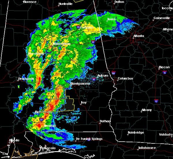 Radar Image for Severe Thunderstorms near Gordonville, AL at 4/14/2019 5:06 AM CDT