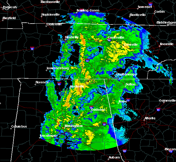 Radar Image for Severe Thunderstorms near Hytop, AL at 4/14/2019 5:09 AM CDT