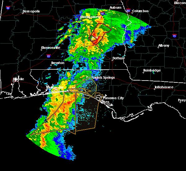 Radar Image for Severe Thunderstorms near Ponce de Leon, FL at 4/14/2019 7:26 AM CDT