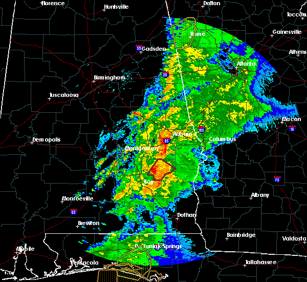 Radar Image for Severe Thunderstorms near Midway, AL at 4/14/2019 7:41 AM CDT