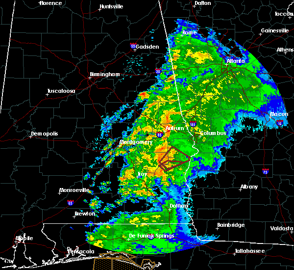 Radar Image for Severe Thunderstorms near Midway, AL at 4/14/2019 8:08 AM CDT