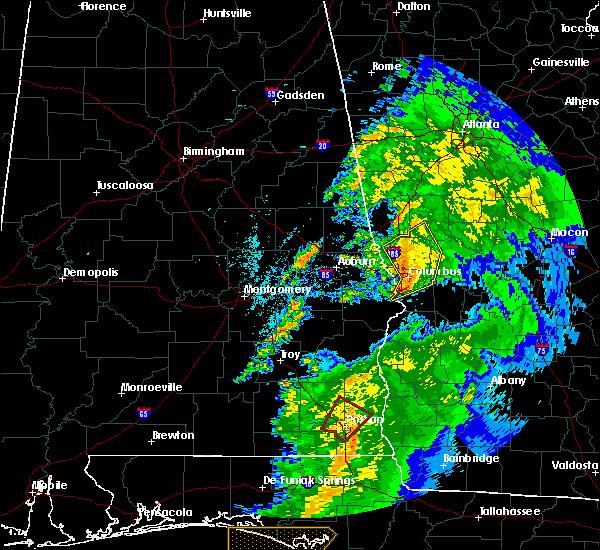 Radar Image for Severe Thunderstorms near Shiloh, GA at 4/14/2019 10:36 AM EDT
