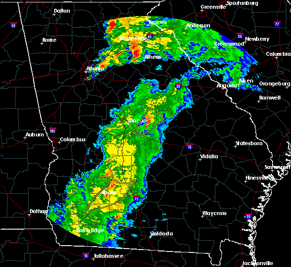 Radar Image for Severe Thunderstorms near Sylvester, GA at 4/14/2019 1:02 PM EDT