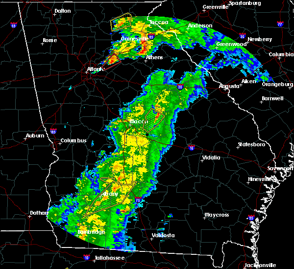Radar Image for Severe Thunderstorms near Ivey, GA at 4/14/2019 1:17 PM EDT