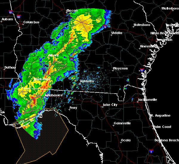 Radar Image for Severe Thunderstorms near Pelham, GA at 4/14/2019 2:00 PM EDT