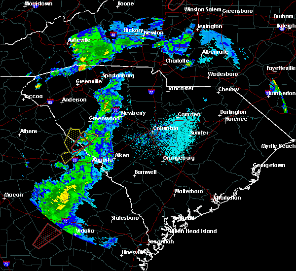 Radar Image for Severe Thunderstorms near Plum Branch, SC at 4/14/2019 2:59 PM EDT