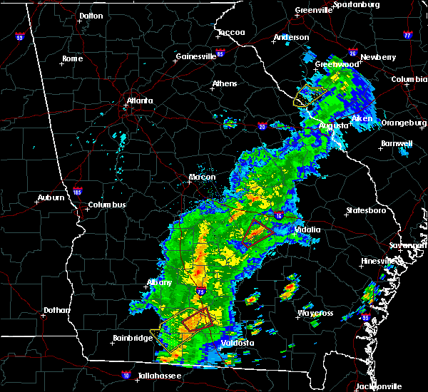 Radar Image for Severe Thunderstorms near Helena, GA at 4/14/2019 3:05 PM EDT