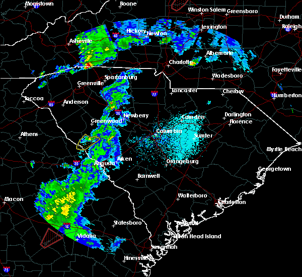 Radar Image for Severe Thunderstorms near Plum Branch, SC at 4/14/2019 3:05 PM EDT
