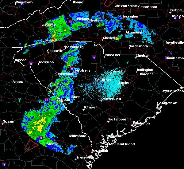 Radar Image for Severe Thunderstorms near Plum Branch, SC at 4/14/2019 3:06 PM EDT