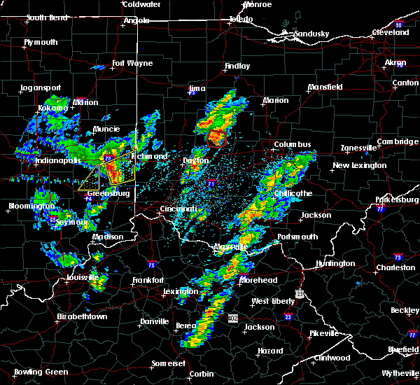 Radar Image for Severe Thunderstorms near Urbana, OH at 4/14/2019 3:30 PM EDT