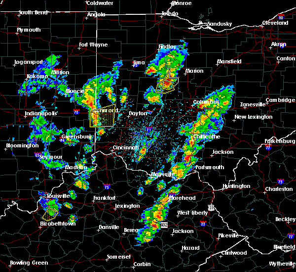 Radar Image for Severe Thunderstorms near Richwood, OH at 4/14/2019 3:55 PM EDT