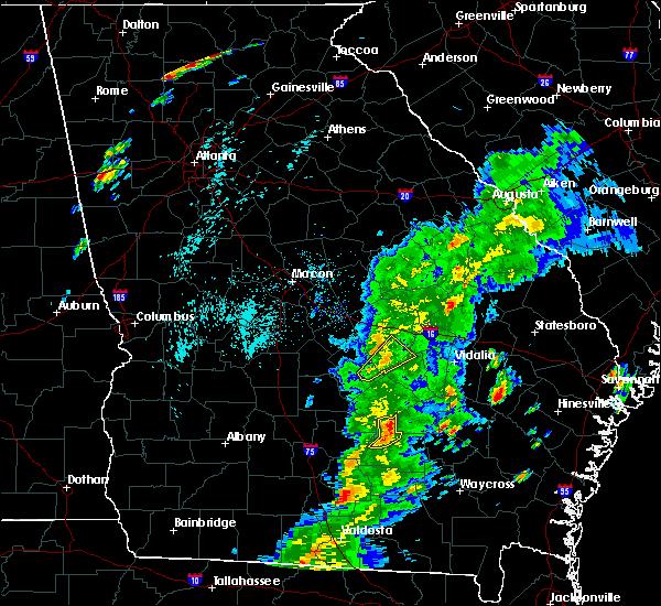Radar Image for Severe Thunderstorms near Denton, GA at 4/14/2019 4:10 PM EDT