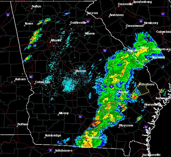 Radar Image for Severe Thunderstorms near Denton, GA at 4/14/2019 4:29 PM EDT