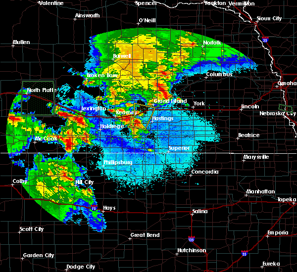 Radar Image for Severe Thunderstorms near Grand Island, NE at 6/10/2015 7:48 PM CDT