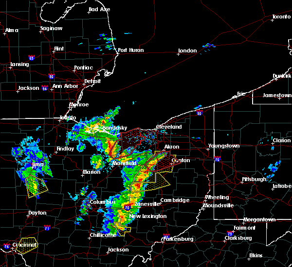 Radar Image for Severe Thunderstorms near Oberlin, OH at 4/14/2019 5:04 PM EDT