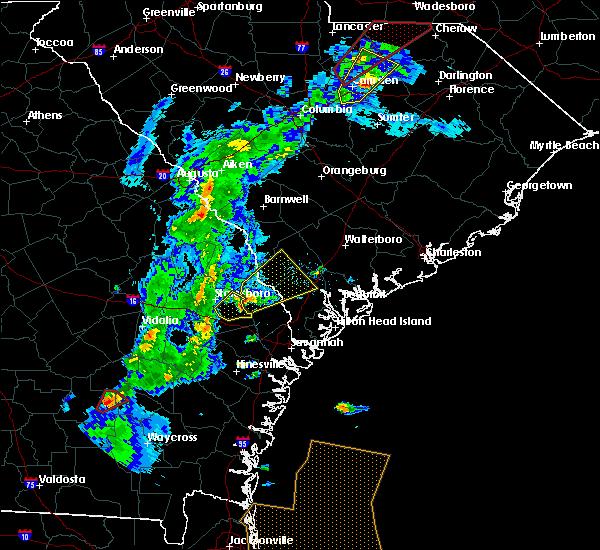Radar Image for Severe Thunderstorms near Brooklet, GA at 4/14/2019 5:07 PM EDT