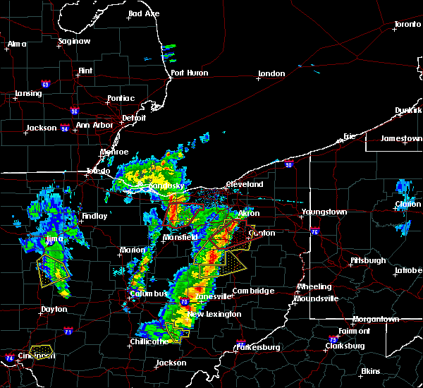 Radar Image for Severe Thunderstorms near Oberlin, OH at 4/14/2019 5:16 PM EDT