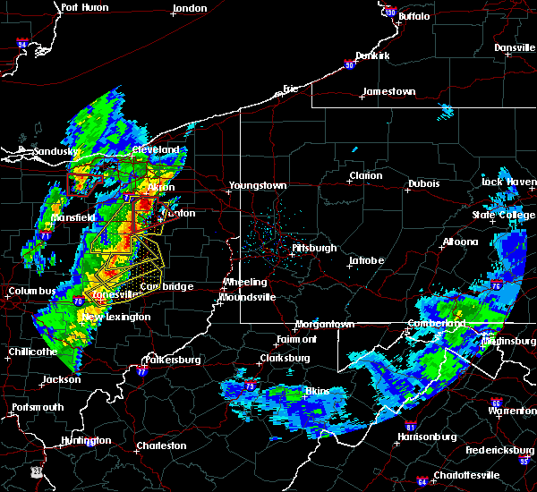 Radar Image for Severe Thunderstorms near Plainfield, OH at 4/14/2019 5:26 PM EDT