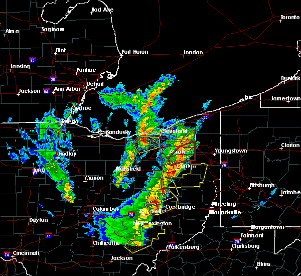 Radar Image for Severe Thunderstorms near Middlefield, OH at 4/14/2019 5:45 PM EDT