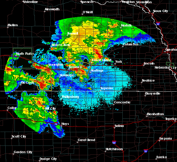 Radar Image for Severe Thunderstorms near Grand Island, NE at 6/10/2015 7:58 PM CDT