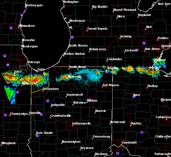 Radar Image for Severe Thunderstorms near Swanton, OH at 6/10/2015 8:59 PM EDT