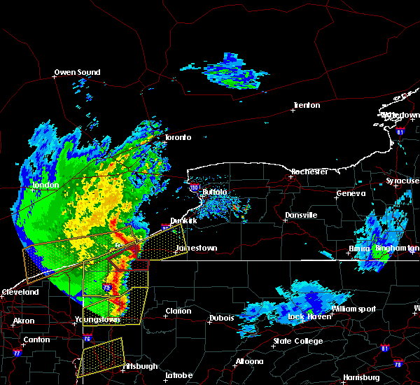 Radar Image for Severe Thunderstorms near Panama, NY at 4/14/2019 7:32 PM EDT