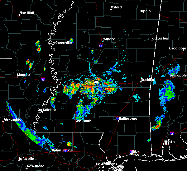 Radar Image for Severe Thunderstorms near Raymond, MS at 6/10/2015 8:14 PM CDT