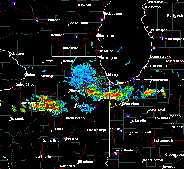 Radar Image for Severe Thunderstorms near Lake Village, IN at 6/10/2015 8:21 PM CDT