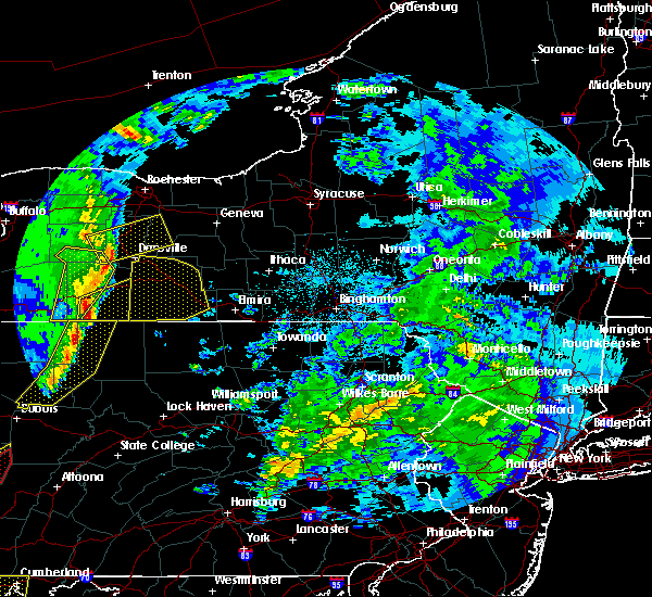Radar Image for Severe Thunderstorms near Addison, NY at 4/14/2019 10:04 PM EDT