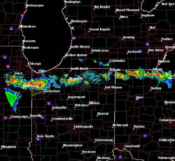 Radar Image for Severe Thunderstorms near Metamora, OH at 6/10/2015 9:24 PM EDT