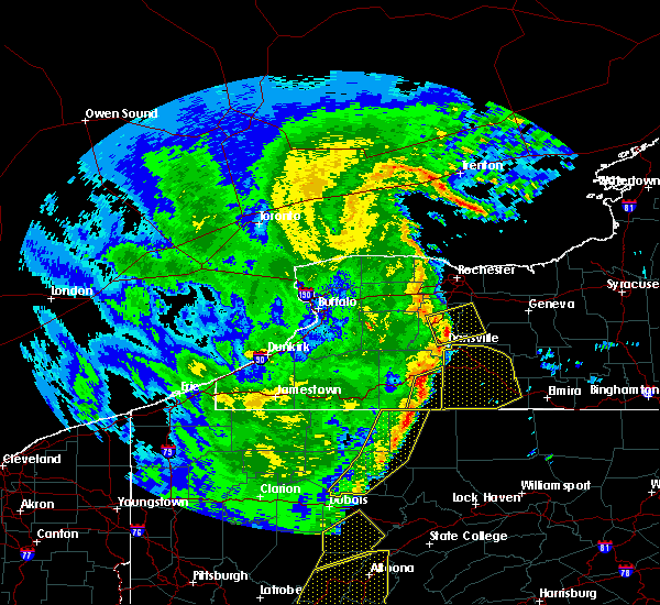 Radar Image for Severe Thunderstorms near Scio, NY at 4/14/2019 10:20 PM EDT