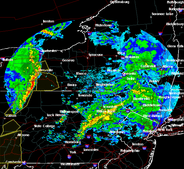 Radar Image for Severe Thunderstorms near Addison, NY at 4/14/2019 10:20 PM EDT