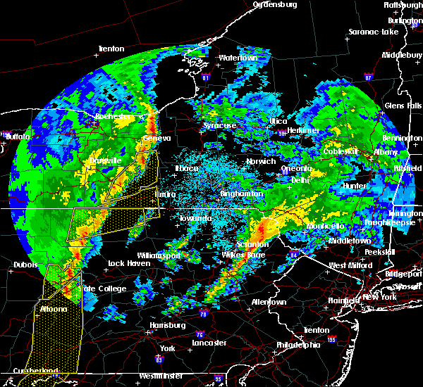 Radar Image for Severe Thunderstorms near Coopers Plains, NY at 4/14/2019 11:29 PM EDT