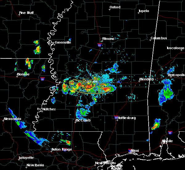 Radar Image for Severe Thunderstorms near Brandon, MS at 6/10/2015 8:32 PM CDT