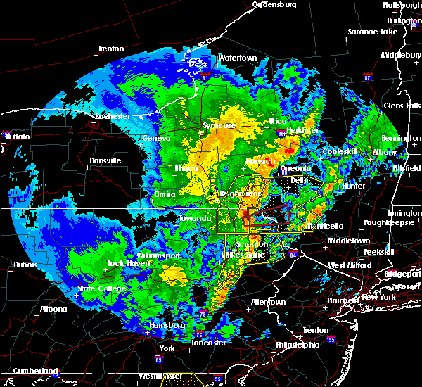 Radar Image for Severe Thunderstorms near East Side, PA at 4/15/2019 2:11 AM EDT