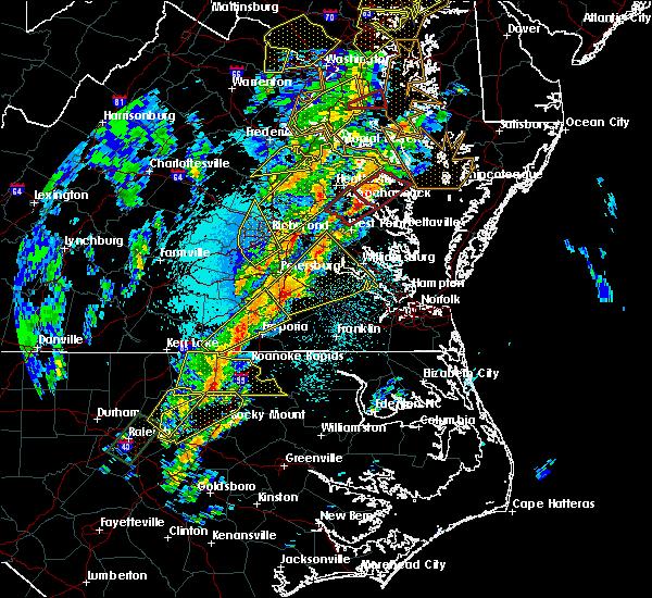 Radar Image for Severe Thunderstorms near Heathsville, VA at 4/15/2019 2:15 AM EDT