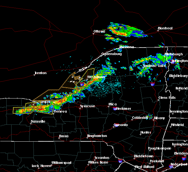 Radar Image for Severe Thunderstorms near Sodus, NY at 6/10/2015 9:47 PM EDT