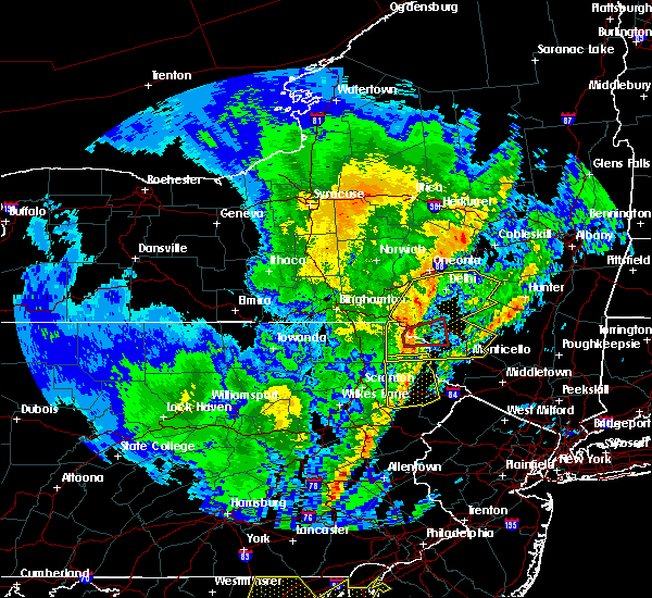 Radar Image for Severe Thunderstorms near Fawn Lake Forest, PA at 4/15/2019 2:24 AM EDT