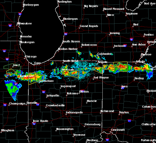 Radar Image for Severe Thunderstorms near Napoleon, OH at 6/10/2015 9:47 PM EDT
