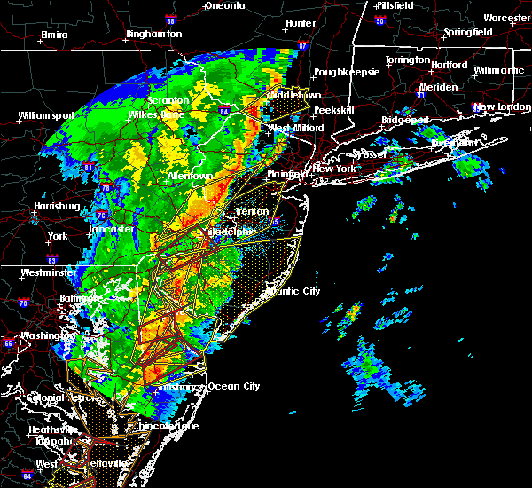 Radar Image for Severe Thunderstorms near Roebling, NJ at 4/15/2019 3:45 AM EDT