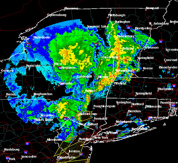 Radar Image for Severe Thunderstorms near New Windsor, NY at 4/15/2019 3:52 AM EDT