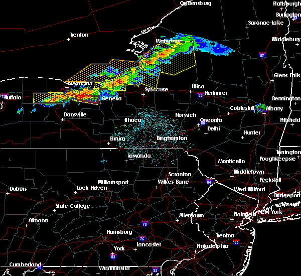 Radar Image for Severe Thunderstorms near Auburn, NY at 6/10/2015 9:57 PM EDT