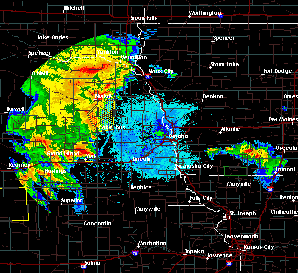 Radar Image for Severe Thunderstorms near Emerson, NE at 6/10/2015 9:00 PM CDT