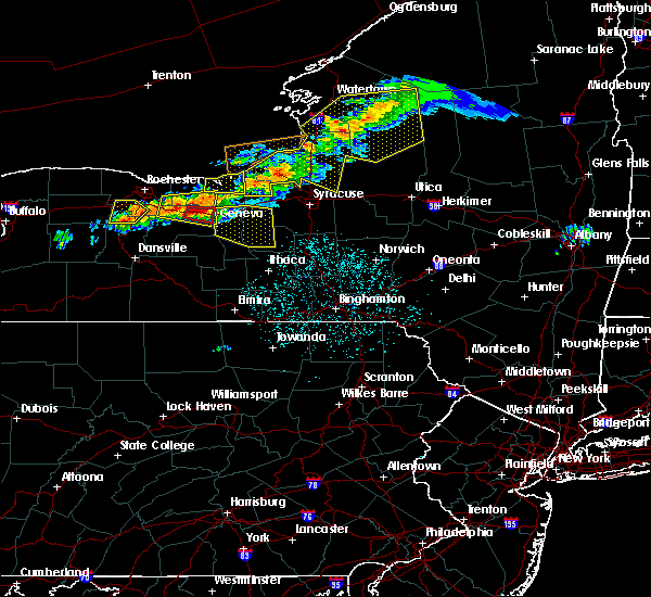 Radar Image for Severe Thunderstorms near Clifton Springs, NY at 6/10/2015 10:02 PM EDT