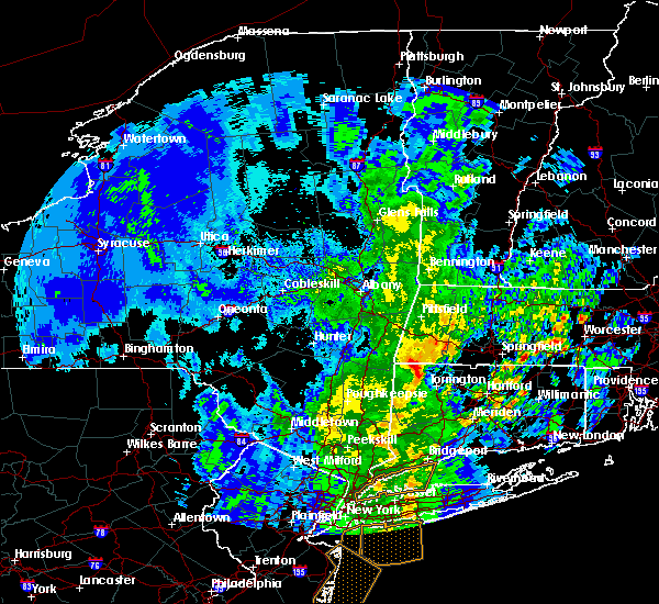 Radar Image for Severe Thunderstorms near Chicopee, MA at 4/15/2019 5:09 AM EDT