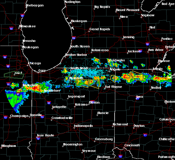 Radar Image for Severe Thunderstorms near Napoleon, OH at 6/10/2015 10:15 PM EDT