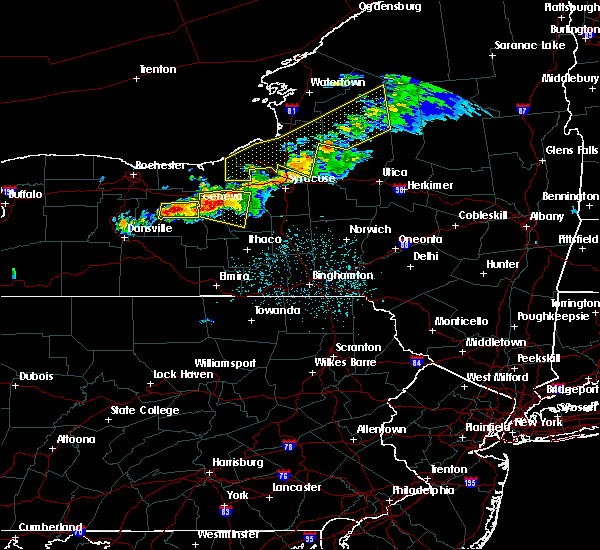 Radar Image for Severe Thunderstorms near Auburn, NY at 6/10/2015 10:37 PM EDT