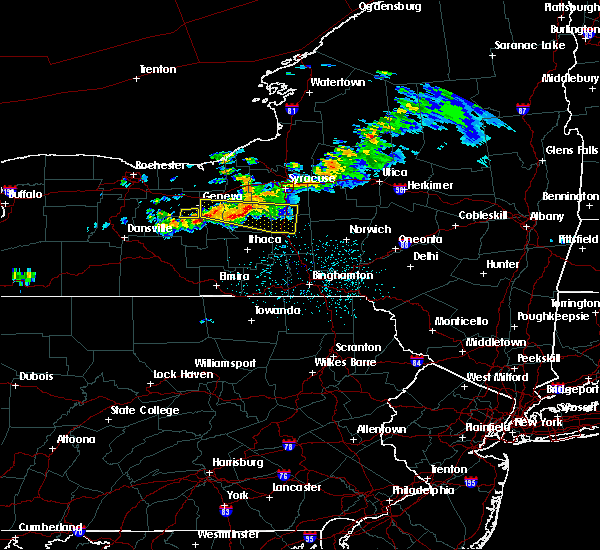 Radar Image for Severe Thunderstorms near Aurora, NY at 6/10/2015 11:00 PM EDT