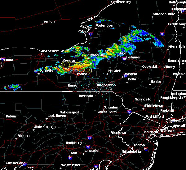 Radar Image for Severe Thunderstorms near Aurora, NY at 6/10/2015 11:15 PM EDT